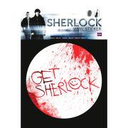 Sherlock Get Sherlock - Vinyl Sticker - 10 x 15cm