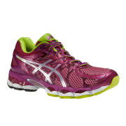 Asics Women's Gel-Nimbus 16 Trainers - Raspberry/Lightning/Lime