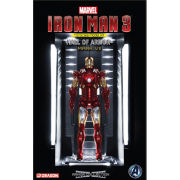 Dragon Action Heroes Marvel Iron Man Mark VII with Hall of Armour Model Kit
