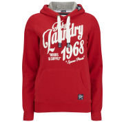 Tokyo Laundry Women's Olive Hoody - Tokyo Red