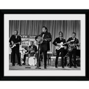 Johnny Cash On Stage - 16x12 Framed Photographic