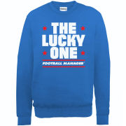 Football Manager Lucky One Men's Sweatshirt - Royal Blue