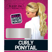 Sleep In Rollers Ponytail Curly (Various Shades)