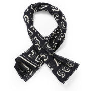 Marc by Marc Jacobs Dynamite Logo Scarf - Black Multi