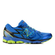 New Balance Men's NBX M1080 V4 Cushioning Running Shoes - Blue/Lime