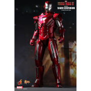 Hot Toys Iron Man Silver Centurion Mark 33 1:6 Scale Figure