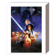 Star Wars Return of the Jedi One Sheet - 50 x 40cm Canvas