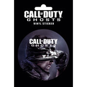 Call of Duty Ghosts Cover - Vinyl Sticker - 10 x 15cm