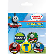 Thomas and Friends High Velocity - Badge Pack
