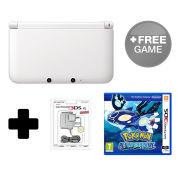 Nintendo 3DS XL White Pokémon Alpha Sapphire Pack