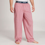 Levi's Men's Woven Loungepants - Red Check