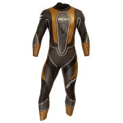 Zone3 Men's Victory Wetsuit - Black/Grey/Gold