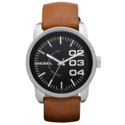 Diesel Men's Franchise 46mm Leather Watch - Stainless Steel