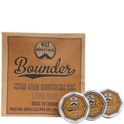 Bounder Extra Firm Moustache Wax Triple Pack (3 x 10g)