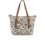 Nica Women's Viola Printed Tote Bag - Ornate Decorate Stone