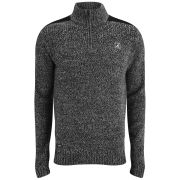 Kangol Men's Adderley Fleece - Black Mingled