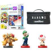Mario Party 10 amiibo Mixer Pack - Mario, Toad, Bowser & Luigi