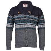 Tokyo Laundry Men's Ottawa Button Knit - Charcoal