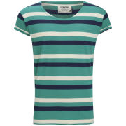 Jack and Jones Men's Robit Striped T-Shirt - Blue Grass