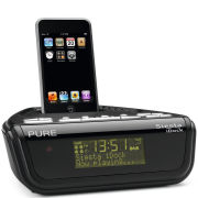 Pure Siesta iDock DAB Clock Radio - Black