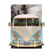 VW Californian Camper Beach - Lenticular Poster - 47 x 67cm
