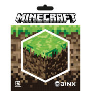 Minecraft Block - Vinyl Sticker - 10 x 15cm