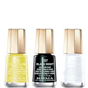 Mavala June Limited Edition Varnish Trio