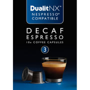 Dualit 15704 Decaf Espresso NX Coffee Capsules (10 Pack)
