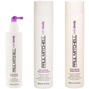 Paul Mitchell Extra Body Trio- Shampoo, Daily Rinse & Daily Boost
