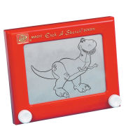 Red Etch A Sketch