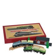 Traditional Wooden Train Set - Retro Board Game