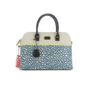Paul's Boutique Maisy Tiger Print Bowler Bag - Blue Tiger