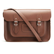 The Cambridge Satchel Company Men's 14 Inch Classic Satchel - Tan