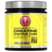 PowerMan Creatine Chewing Tabs