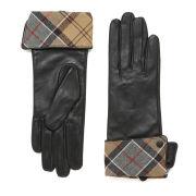 Barbour Lady Jane Leather Gloves - Black