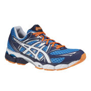 Asics Men's Gel-Pulse 6 Trainers - Blue/White/Flash Orange