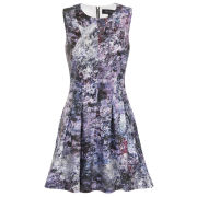 Girls On Film Women's Printed Skater Dress - Multi
