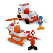 Mickey Mouse Clubhouse: Goofy and Donald Rescue Vehicles
