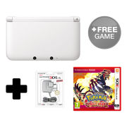 Nintendo 3DS XL White Pokémon Omega Ruby Pack