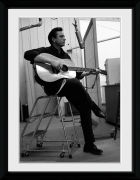 Johnny Cash Studio - 16x12 Framed Photographic