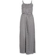 Influence Women's Zig Zag Maxi Dress- Navy/Cream