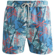 Oiler & Boiler Men's Classic Swim Shorts - Caribbean Blue