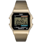 Timex Digital Bracelet Watch - Gold