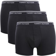 Tommy Hilfiger Men's Classic Stretch Trunks 3-Pack - Black