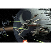 Star Wars Death Star Battle - Maxi Poster - 61 x 91.5cm