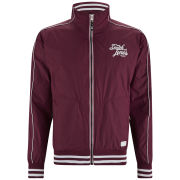 Smith & Jones Men's Cheval Jacket - Burgundy