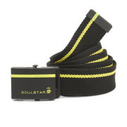 Soul Star Men's Web Belt - Black