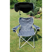 Quik Shade Canopy Chair - Grey