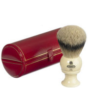 Kent Traditional Pure Silver Tip Badger Shaving Brush - Large (Bk8)
