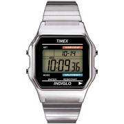 Timex Digital Bracelet Watch - Silver